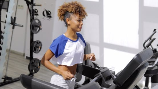 Thumbnail for Woman Training in Outside Gym