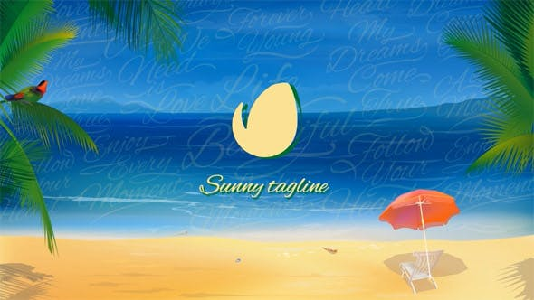 Thumbnail for Sunny Beach Logo Opener