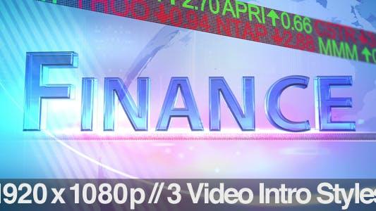 Thumbnail for TV News Program Segment - Finance - 3 Styles