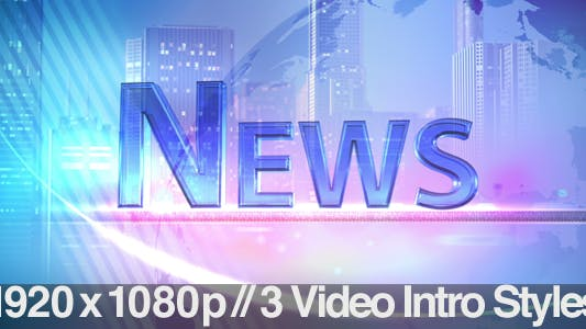 Thumbnail for TV News Program Segment - News - 3 Styles