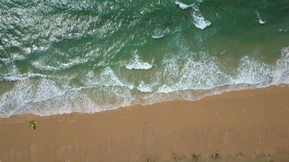 Thumbnail for Background of Wave and Sand