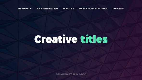 Thumbnail for Motion Abstract Titles | After Effects
