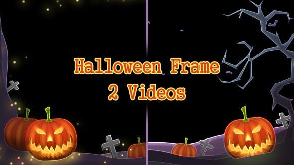 Thumbnail for Halloween Frame 2 Pack