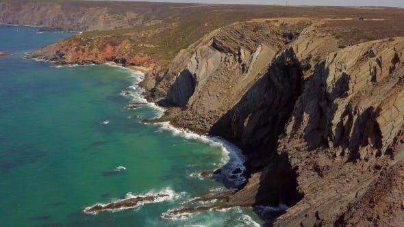 Thumbnail for Huge Cliffs on Ocean Shore