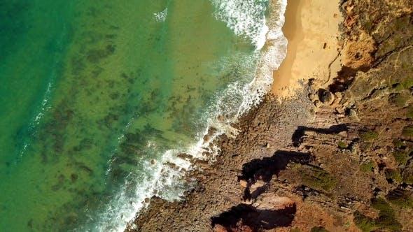 Thumbnail for Top Blick auf Meer und Küste