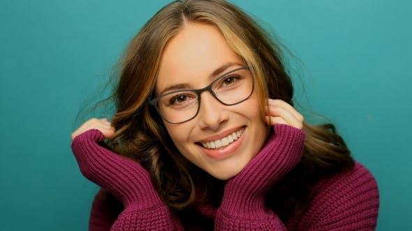Thumbnail for Beautiful Glasses Girl