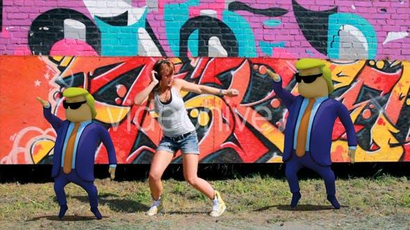 Thumbnail for 3D Donald Trump Dancing