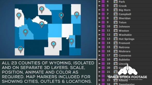 Wyoming Map Kit