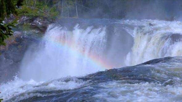 Thumbnail for Ristafallet Waterfall