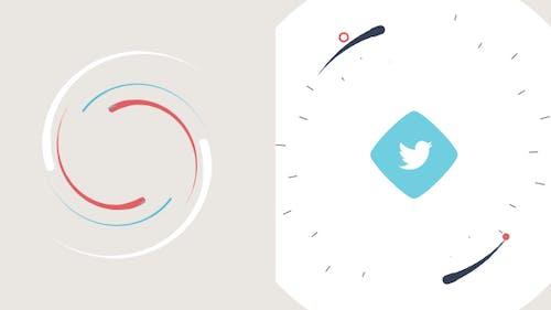 Simple Colorful Logo Intro