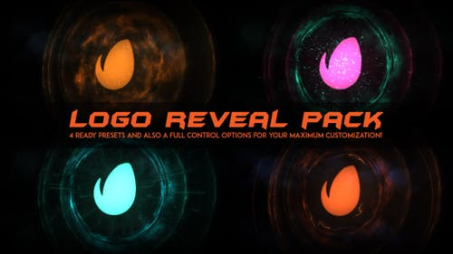 Logo Intro Fire / Logo Reveal Pack