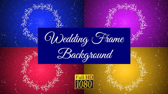 Thumbnail for Wedding Frame Background