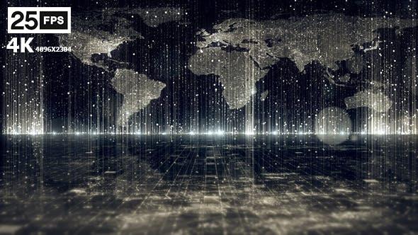 Thumbnail for World Map 01 4K