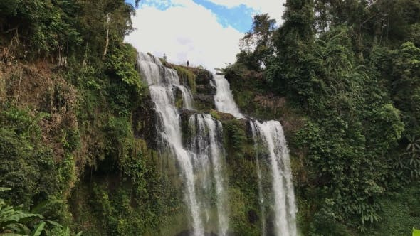 Waterfall at Bolaven Plateau, Near Pakse, Laos
