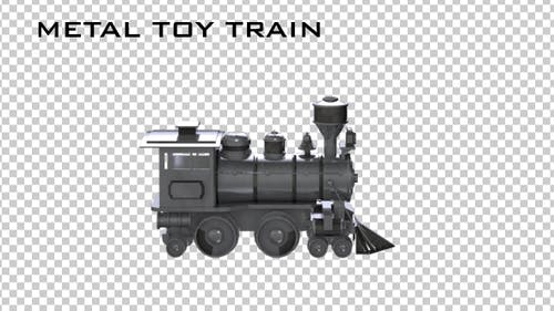Metal Toy Train