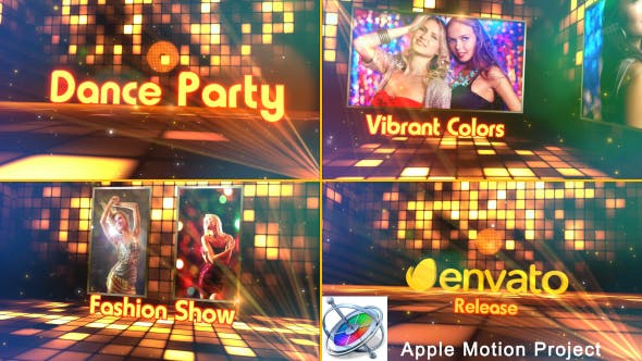 Thumbnail for Dance Party - Apple Motion
