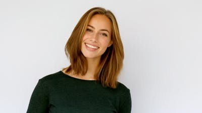 Smiling To Camera