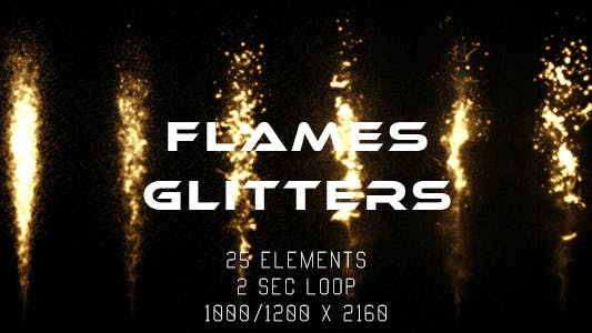 Thumbnail for Flames and Glitters
