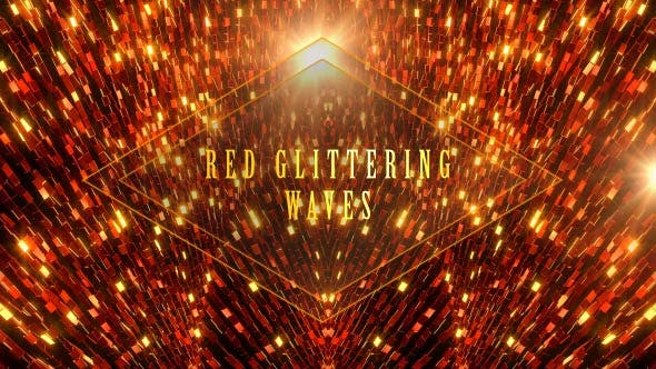 Thumbnail for Red Glittering Waves