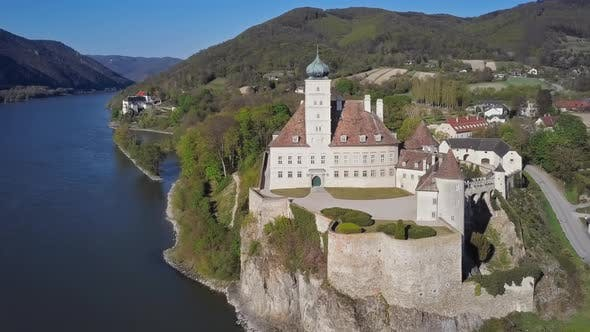 Thumbnail for Aerial View of Schonbuhel Castle, Austria