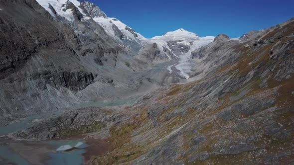 Thumbnail for Aerial of Grossglockner, Austria
