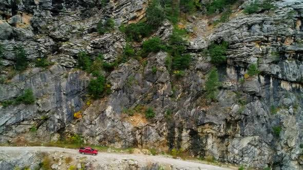 Thumbnail for Car Driving In Autumn Mountains