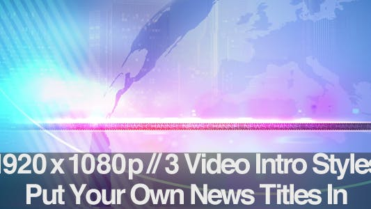 Thumbnail for TV News Program Segment - Motion Backgrounds