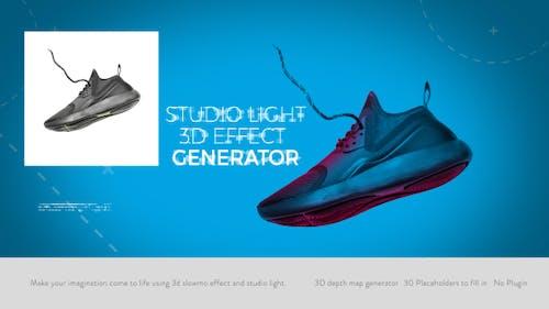 Studio Light I 3D Effect Generator