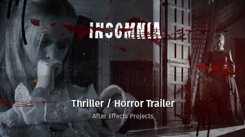 Insomnia - Thriller / Horror Trailer