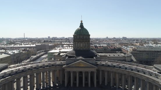 Thumbnail for Kazan Cathedral, St. Petersburg Aerial
