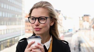City Girl in Glasses