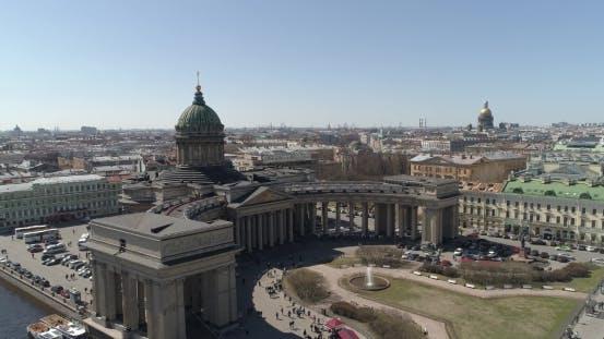 Thumbnail for Kazan Cathedral, St. Petersburg Aerial