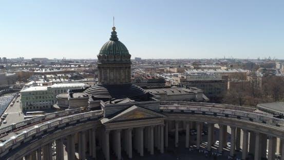 Thumbnail for Catedral de Kazán, San Petersburgo Aéreo