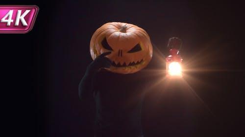 Pumpkin Jack With Lantern
