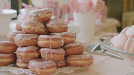 Thumbnail for Doughnuts Filled with Fruit Jam