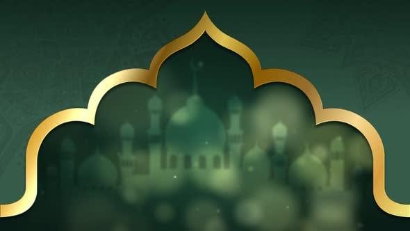 Eid Al Adha Mubarak Background Decorations 06