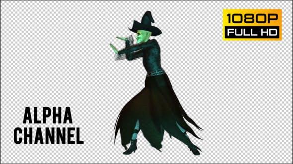 Halloween Hexe 2