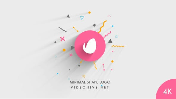 Thumbnail for Minimal Shape Logo Reveal