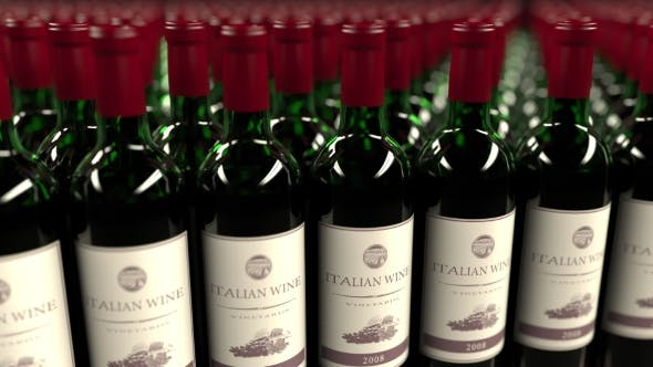 Thumbnail for Many Bottles of Italian Wine
