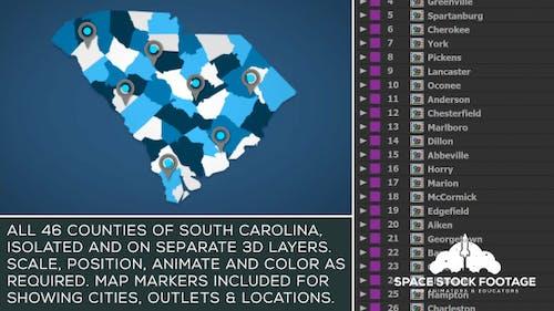South Carolina Map Kit