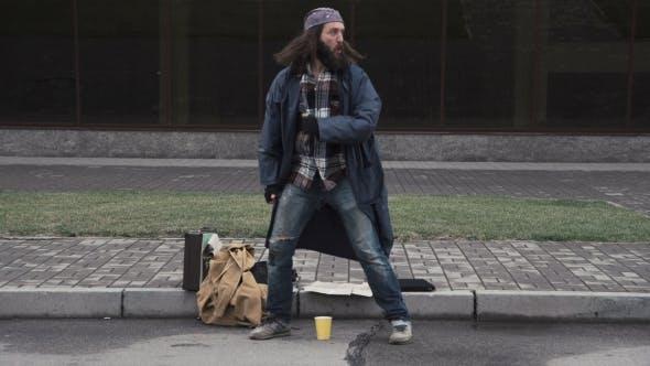 Thumbnail for Homeless Man Won Jackpot