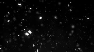 Magic Snow Falling