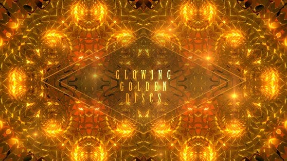 Thumbnail for Glowing Golden Discs