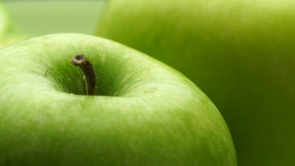Thumbnail for Dew on the Green Apple