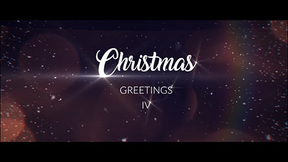 Thumbnail for Christmas Greetings IV  | After Effects Template