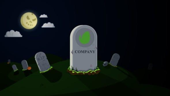 Thumbnail for Halloween Logo Reveal Pack