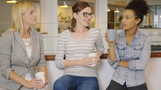 Thumbnail for Woman Talking with Each Other During Break