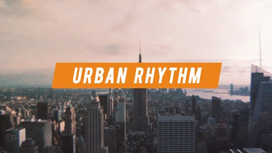 Thumbnail for Urban Rhythm | Modern Opener