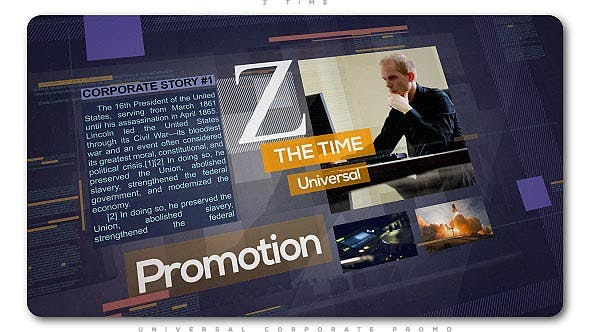 Thumbnail for Z Time | Universal Corporate Promo