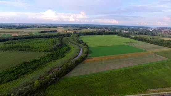 Thumbnail for Drone Shot Countryside